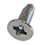 Fine Thread Aluminum Screw