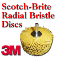 3M Scotch-Brite Radial Bristle Discs