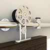 KV Stainless Steel Barn Door Hardware