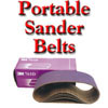 3M Belts, Portable Sander