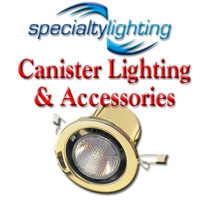 Specialty Lighting, Canister Lighting