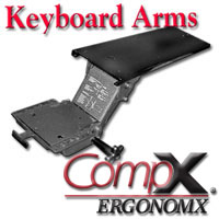 CompX Ergonomx Articulating Keyboard Arms