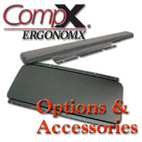 CompX Ergonomx Keyboard Slides