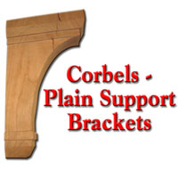 Corbels - Plain Support Brackets