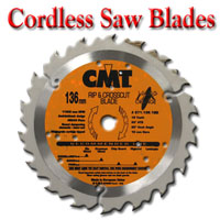 CMT Cordless Saw Blades