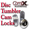CompX Disc Tumbler Cam Locks
