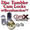 CompX Disc Tumbler Cam Locks with Flexa Function