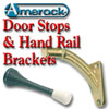 Door Stops, Hand Rail Brackets