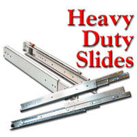 Drawer Slides, Heavy Duty Full Extension