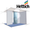 Hettich Heavy Duty Door Hardware