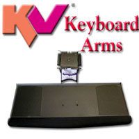 KV Articulating Keyboard Arms