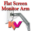 KV Flat Screen Computer Monitor Arm