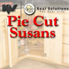 KV Pie Cut Lazy Susan