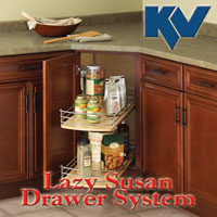 KV Lazy Susan Drawer System