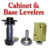 Cabinet and Base Levelers, Heavy Duty