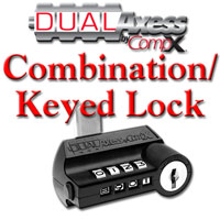 CompX Dual Axess Combination / Keyed Lock