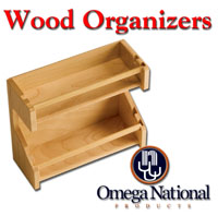 Omega National Wood Organizers