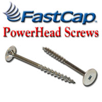 Screws,FastCap Powerhead Screws