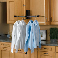 Rev-A-Shelf Pull Down Closet Rods