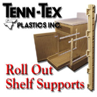 Tenn-Tex Roll Out Shelf Supports