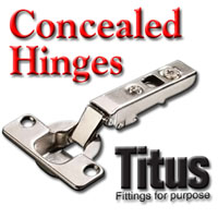 Cabinet Hinges, Titus Concealed