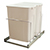 "15"" Wide Bin Double Slide Out, 35 qt"