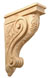Grape Collection Carved Corbels