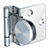Sugatsune Half Overlay Glass Door Hinge GH-34-8