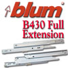Blum® Full Extension Epoxy Coated Slides
