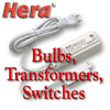 Bulbs, Transformers, Switches