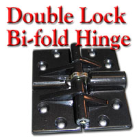 Double Lock Bi-Fold Hinge