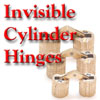 Invisible Cylinder Hinge