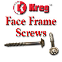 Face Frame Screws