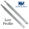 KV Low Profile Drawer Slides
