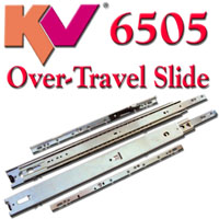 KV6500 and KV6505 125 lb Drawer Slides