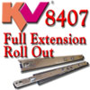 KV 8407 Full Extension w/Shelf Tabs