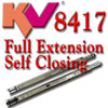 KV 8417 Full Extension Self Closing