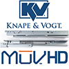 KV MuV HD Full Extension Undermount Slides