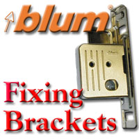 Fixing Brackets, Drawer Front