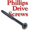 Screws, Deep Thread, Phillips