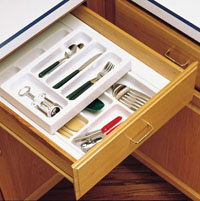 Rolling Cutlery Tray System