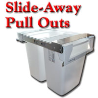 Slide-Away Pull Outs