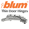 Blum Thin Door hinges