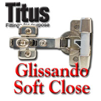 Titus Glissando Soft Close System