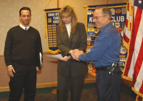 Chris Kellett Walz Kiwanis James Wallin Induction Honorary Member