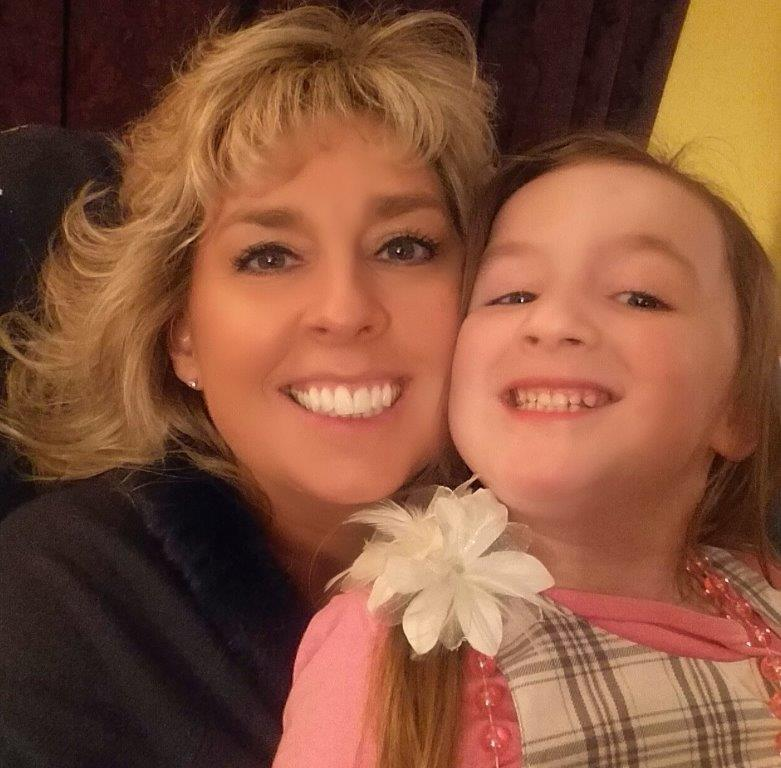 Chris Kellett with her granddaughter MN
