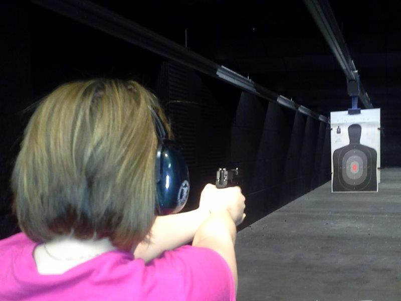 womens handgun shooting safety class Minnesota