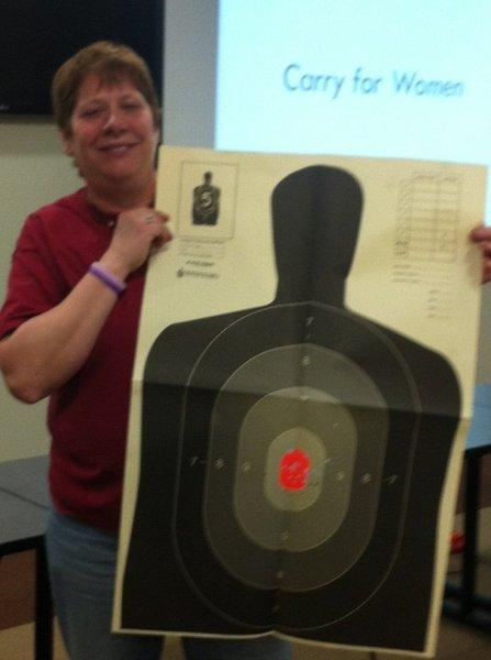 Permit to Carry Womens beginner Handgun Shooting class