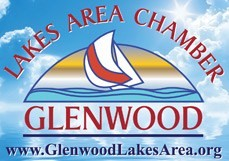 Glenwood Lakes Area Chamber of Commerce Minnesota MN Logo